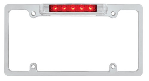 Reflector & Safety License Plate Frames