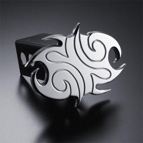 Hawaiian Tribal Hitch Cover Billet Aluminum