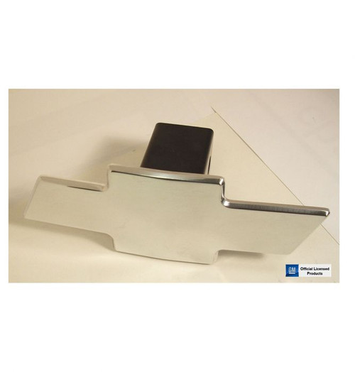 Chevy Bowtie Polished Aluminum Hitch Cover