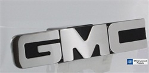 GMC Logo Hitch Cover Polished Black