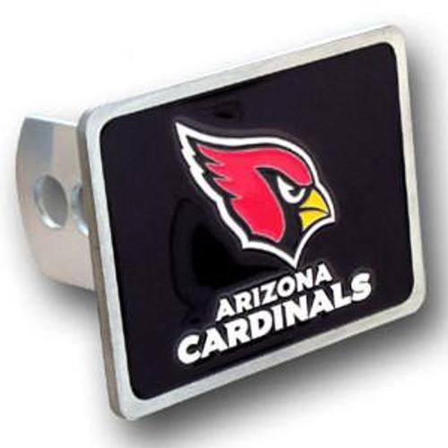 Arizona Cardinals Hitch Cover Class II and Class III Metal Plugs
