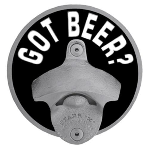 Got Beer Tailgater Hitch Cover