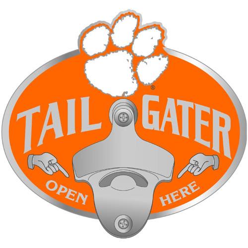 Clemson Tigers Tailgater Hitch Cover Class III