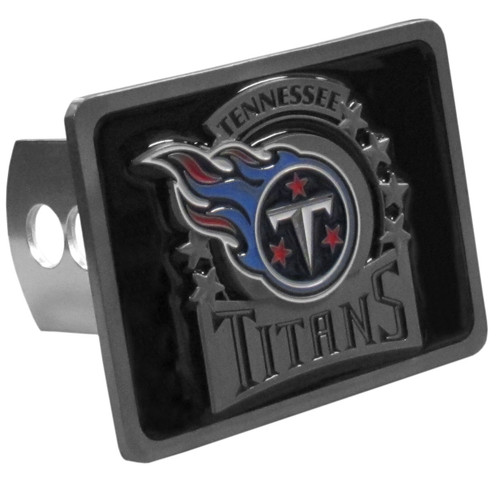 Tennessee Titans Hitch Cover Class II and Class III Metal Plugs