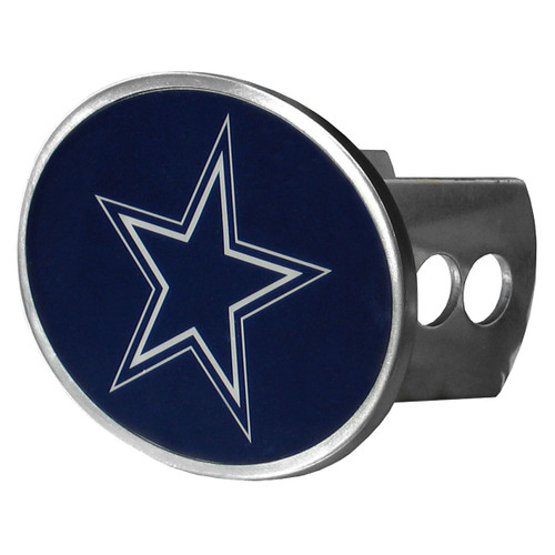 Dallas Cowboys Hitch Cover Class II and III Metal Oval