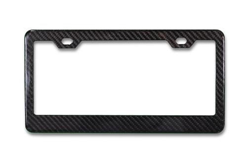 Real Carbon Fiber License Plate Frame