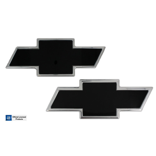 Chevy Bowtie Grille and Tailgate Emblem 2007 NBS-10 Silverado 2500 3500 Combo Front and Rear