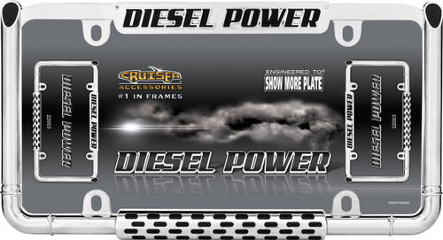 Diesel Power License Plate Frame