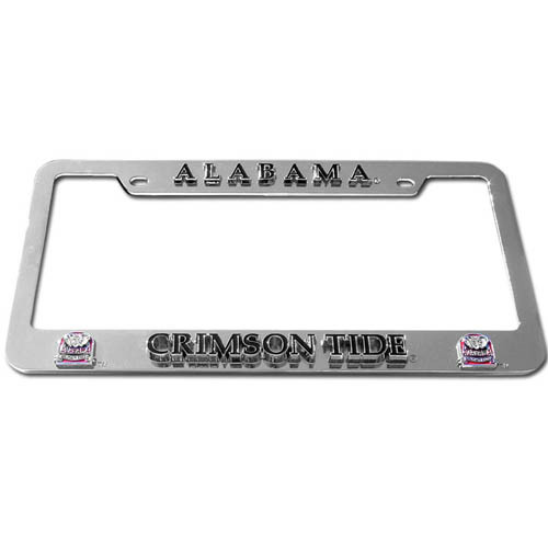 Alabama Crimson Tide Deluxe License Plate Frame