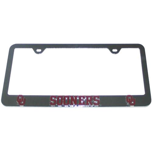 Oklahoma Sooners License Plate Frame