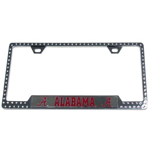 Alabama Crimson Tide Bling License Plate Frame