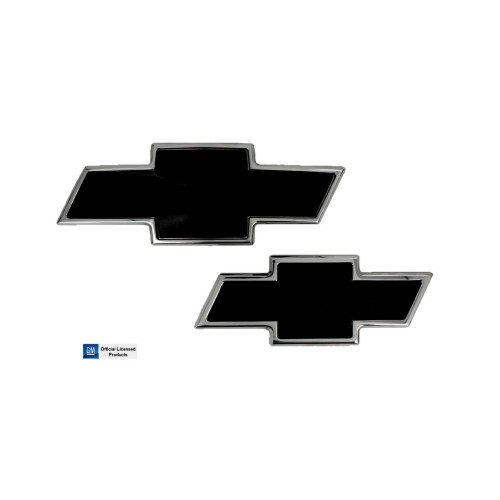 Chevy Billet Bowtie Grille and Tailgate Emblem 2007-2014 Tahoe and Suburban Combo Front and Rear