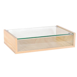 Countertop Display Case 590w x 390d x 138h Ply