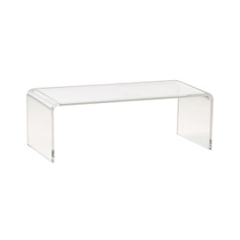 Display Bridge Rectangular Small 220mm x 110mm Clear