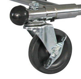 Folding Rack Replacement Castor Wheel with Brake
