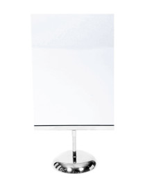 A4 Portrait Ticket Holder with 75mm Stem Complete