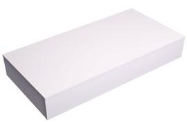 Plinth 2400mm x 450mm x 150mm high White