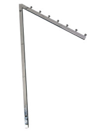 Waterfall Arm Only for 2 Way or 4 Way Rack 450mm Chrome