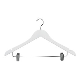 Top Hanger Wishbone Notches Clips 440mm White Gloss