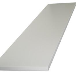 Shelf for H Gondola long side 16mm x 280mm x 1160mm White