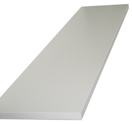 Shelf for H Gondola 1/2 long side 16mm x 280mm x 530mm White