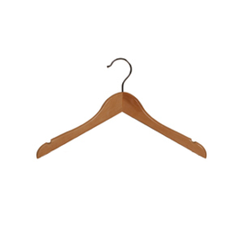 Child Top Hanger Flat Profile 350mm Beech Gloss