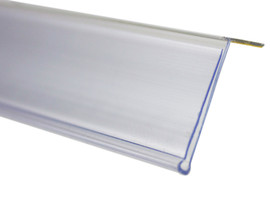 Data Strip Top Mount 39mm x 1200mm Clear
