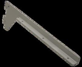 Flexiwall 50 Shelf Brackets 25mm x 300mm pair White