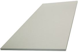 FlexiPlus Base or Top Shelf 16mm for 1200mm Bay White