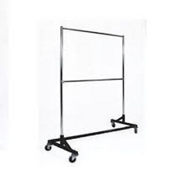 Z Rack with Extensions and Crossbar Black Base