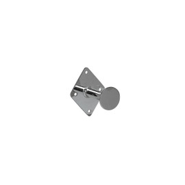 Wall Mount Dressing Room Hook 80mm White