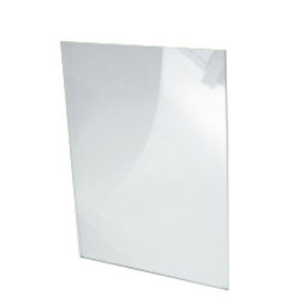 Acrylic Pocket for Sign Holder Bases A4 Portrait Clear
