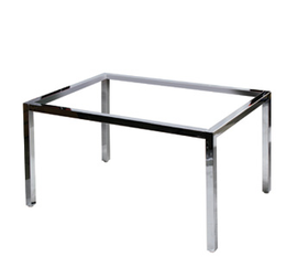 Nesting Table Small Frame only 1100x750x600h Chrome
