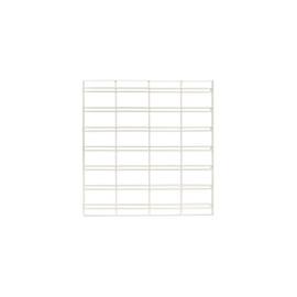 FlexiPlus or Flexiwall Infill Panel Slatgrid 600mm White
