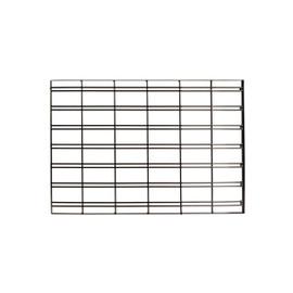 FlexiPlus or Flexiwall Infill Panel Slatgrid 900mm Black