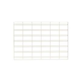 FlexiPlus or Flexiwall Infill Panel Slatgrid 900mm White