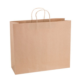Paper Bag SL Wide 435wx145dx410h Shopper Recycled x 200