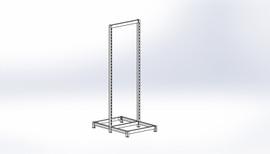 FlexiPlus Upright T Leg Starter Bay 600w x 1805h White