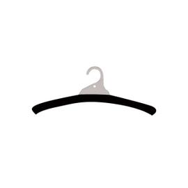 Hanger Cover Foam Black pack 500