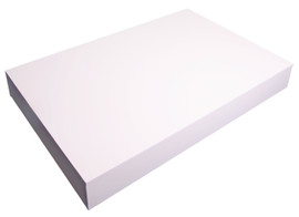 Plinth 450mm x 450mm x 150mm high White