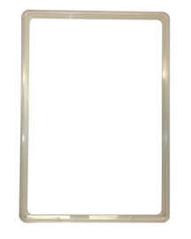 Poster Ticket Frame Plastic A4 Clear
