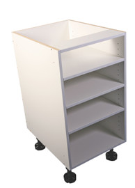 Counter Open Shelving Unit 600mm White