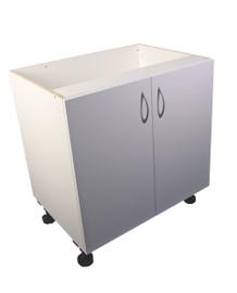 Counter Cupboard Unit 800mm White