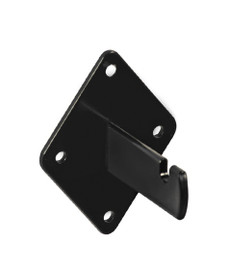 Wire Grid Wall Mount Bracket Black