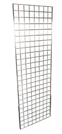 Gridmesh Panel 610mm w x 1830mm h Chrome