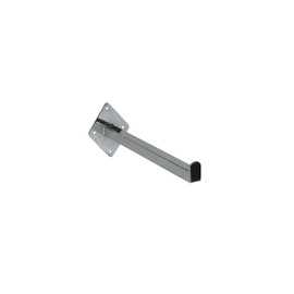 Wall Mount Straight Arm 300mm Chrome