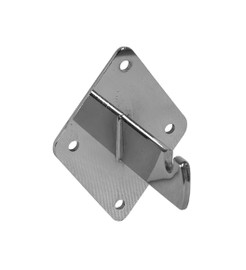 Wire Grid Wall Mount Bracket Chrome