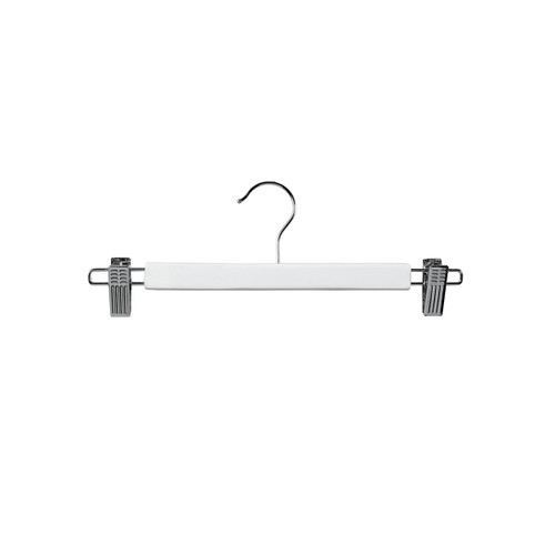 Clip Hanger End Clips 330mm White Gloss