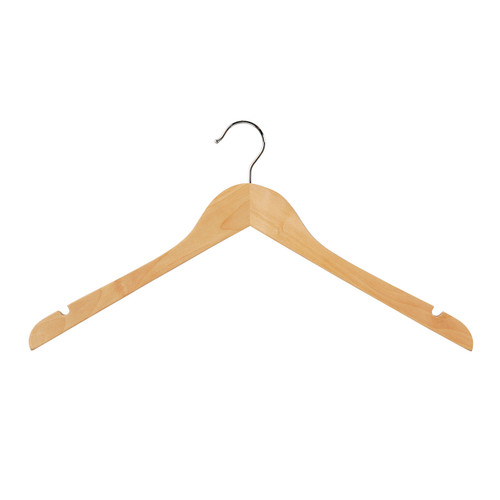 Top Hanger 12mm Flat Profile 440mm Beech Gloss