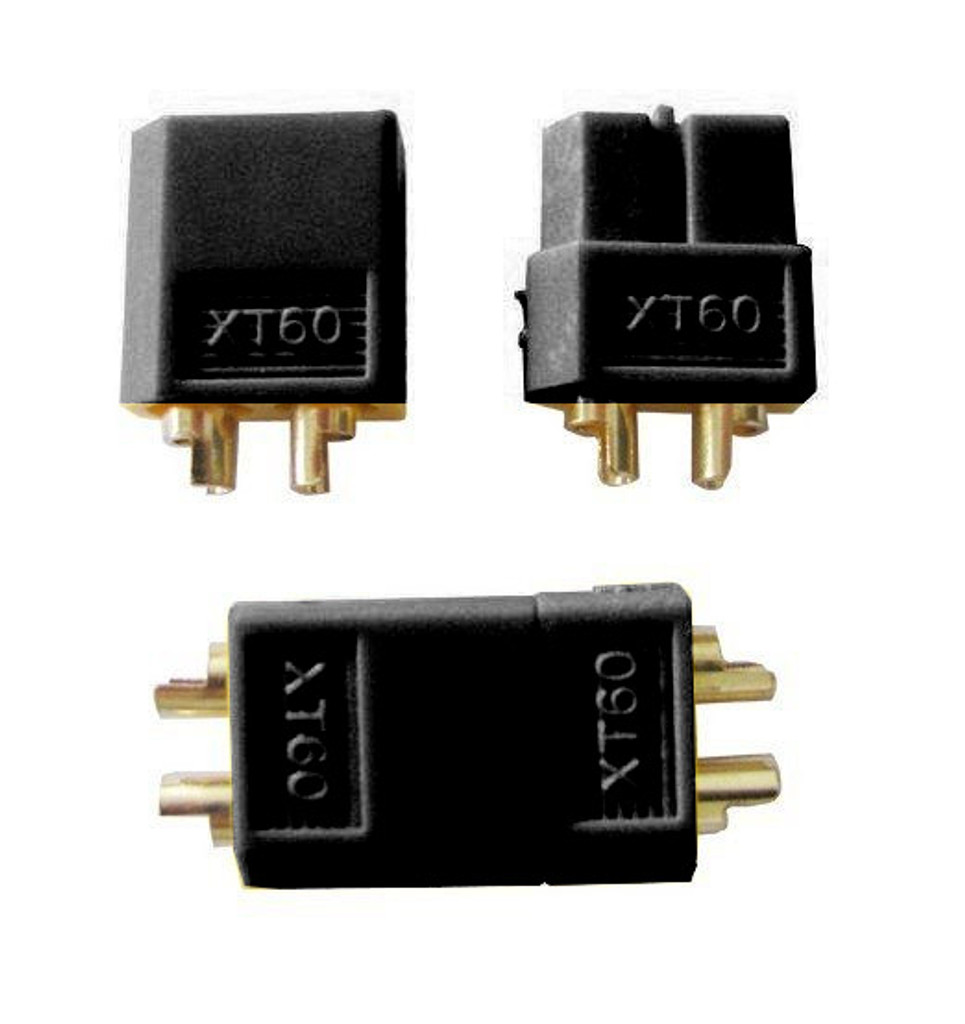 Black XT60 connector 5 sets